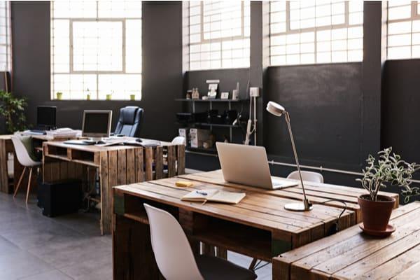 Funktionell kontorsinredning en bra lösning